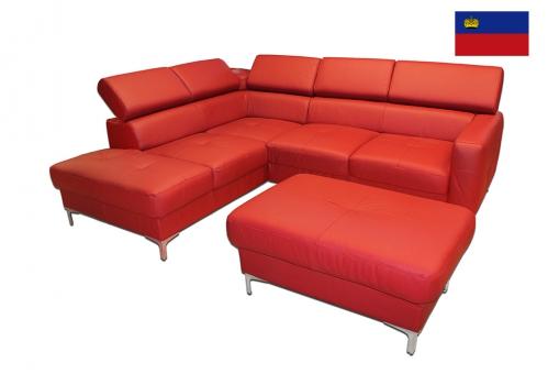 Угловой диван Sammy Red