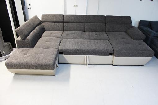 Speedway П-образный угловой диван кровать